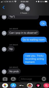 Texting with Sound Team