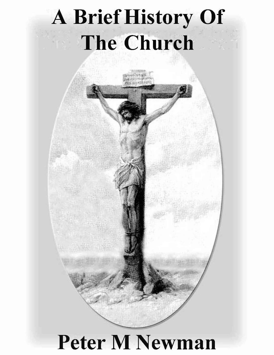 A Brief History of the Church