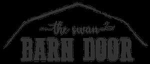 The Swan Barn Door