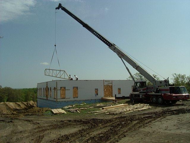 new build ICF basement