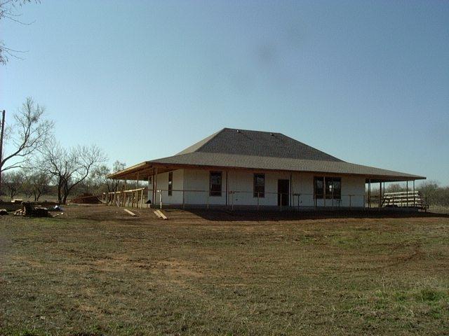 new build ICF construction