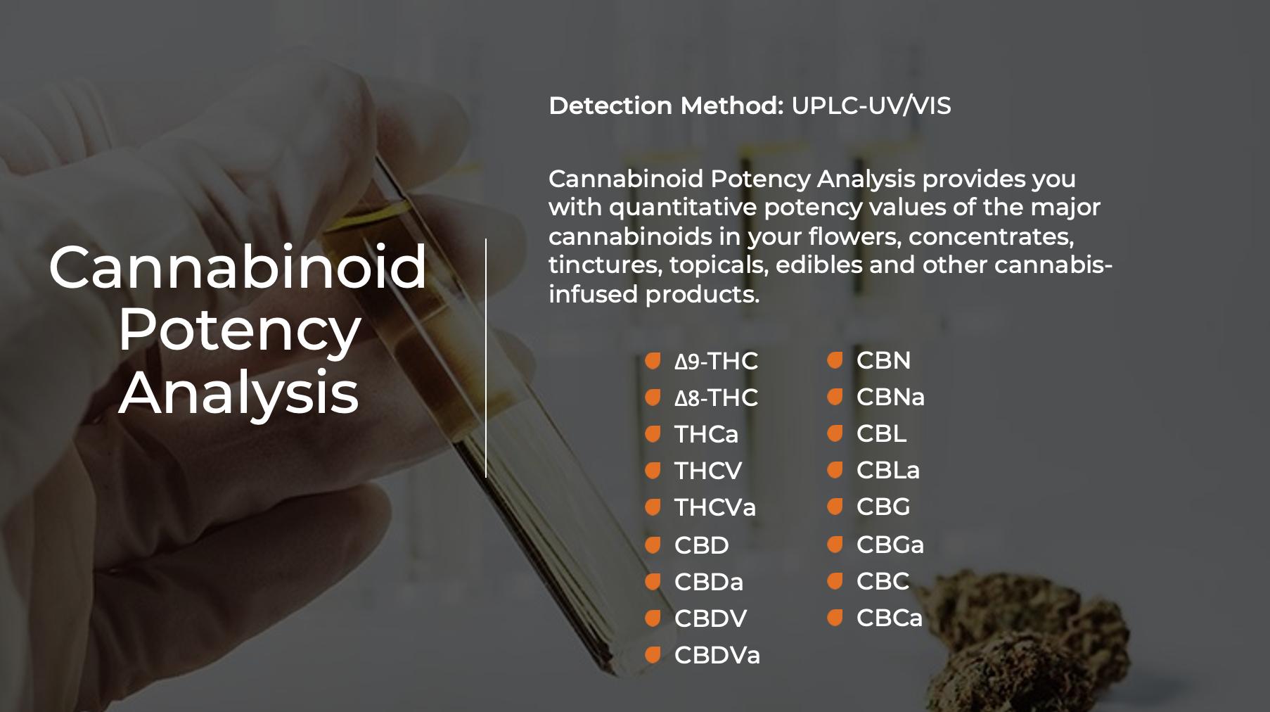 Cannabinoid Potency Analysis - Indo Labs