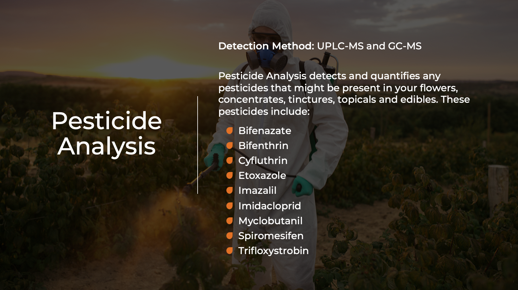 Pesticide Analysis - Indo Labs