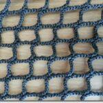 Cut Square Knotless Raschel Netting