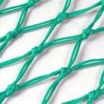 Double Mesh Braided Knotted Polyethylene Netting