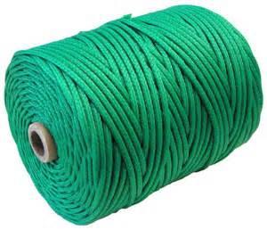 Braided High Tenacity Polyethylene Twine