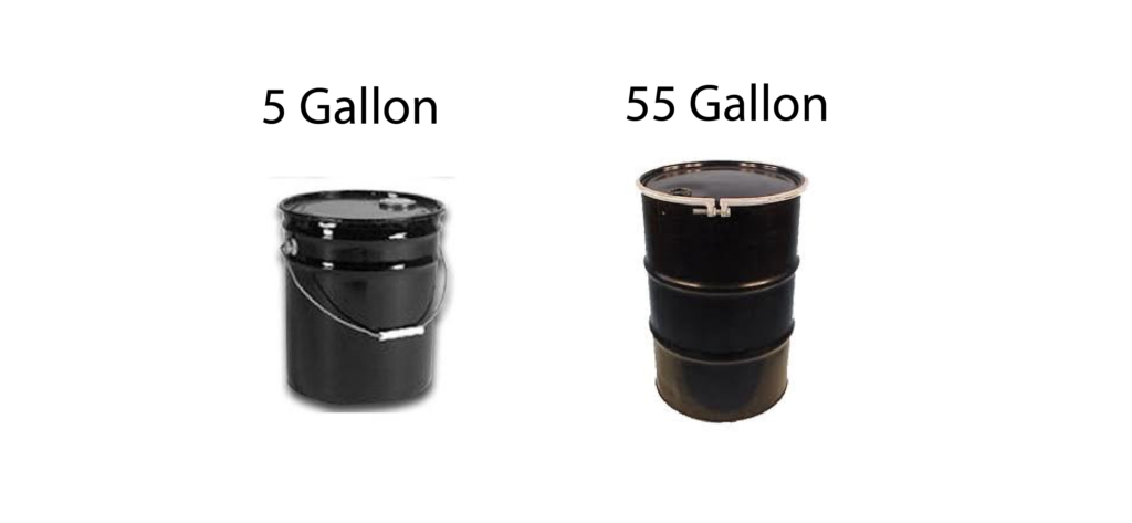 Dip Containers 5 Gallon and 55 Gallon