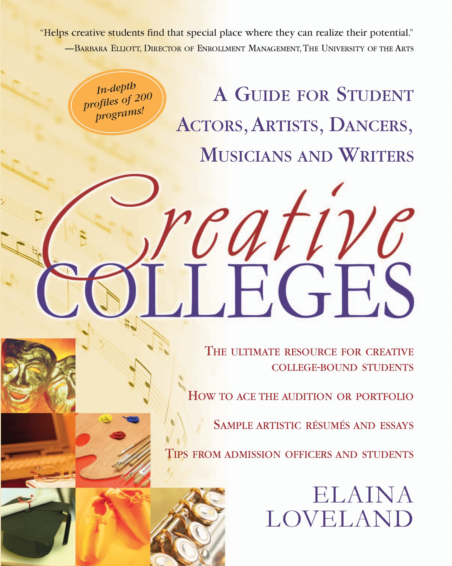 cover guidebooks creative colleges
