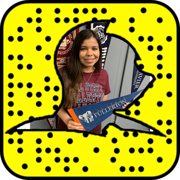 Jessica Lizarraga Attending Cal State Fullerton