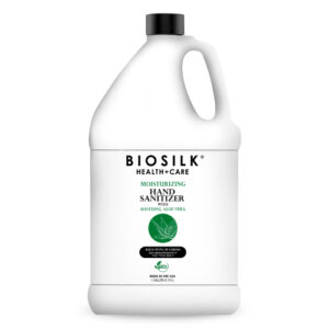 biosilk sanitizer 1 gallon with soothing aloe vera