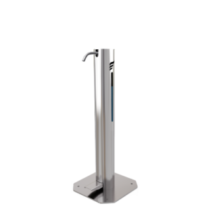 ideas in metal sanitizer dispenser