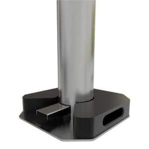 ideas in metal sanitizer dispenser weight accessory