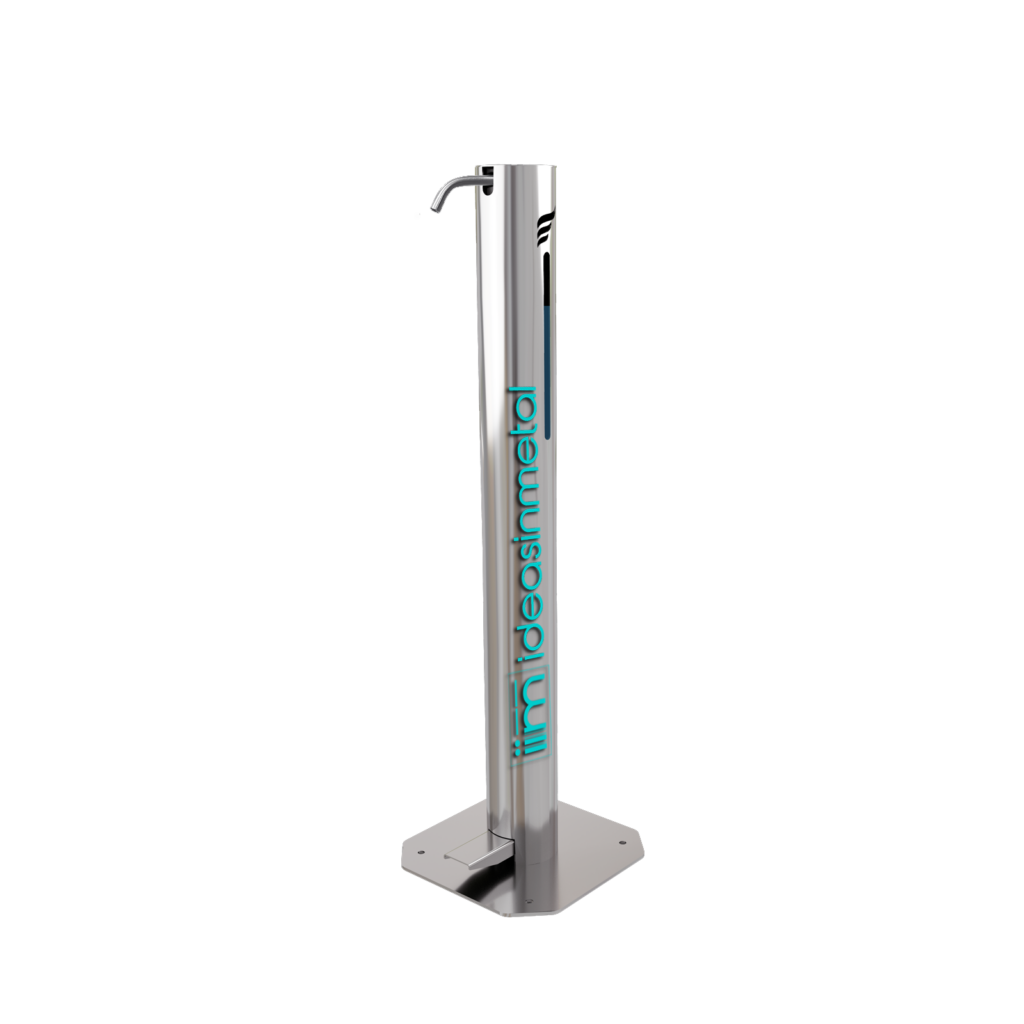 ideas in metal custom sanitizer xxl dispenser extra small small large and extra large