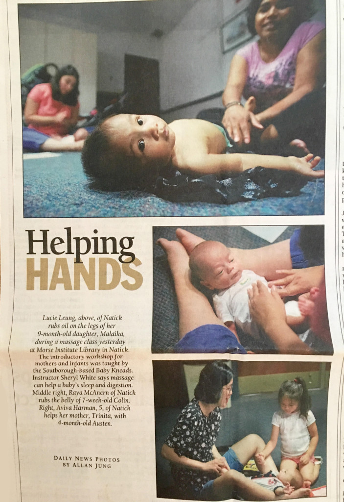Helping Hands - Metrowest Daily News - Aug 10 2010
