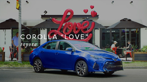 Toyota Corolla - Love - Duplicate