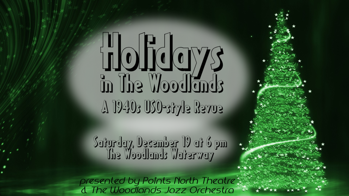 Join us for HOLIDAYS IN THE WOODLANDS on Dec. 19