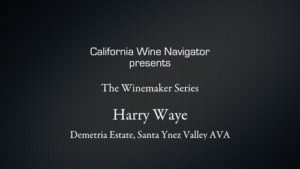 Winemaker Harry Waye
