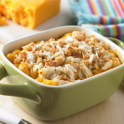 Crab Mac 'n Cheese