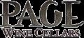 Page Wine Cellars