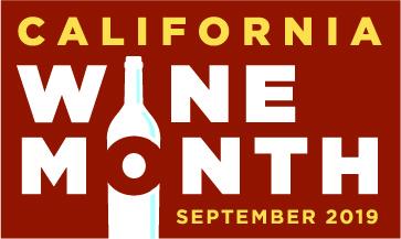 California Wine Month logo