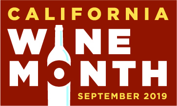 California Wine Month logo
