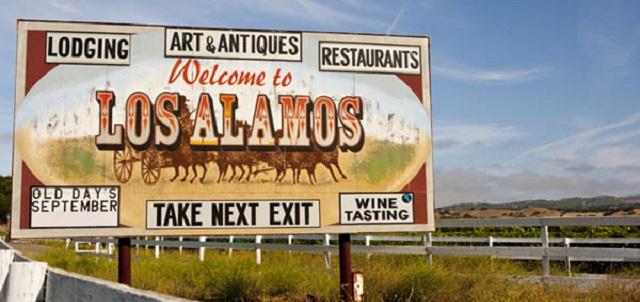 Los Alamos Sign