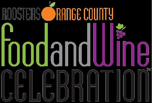 Orange County food and wine celebration logo