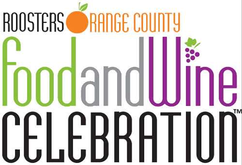 Orange County food and wine celebration logo