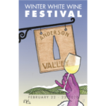Winter White Wine Festival poster