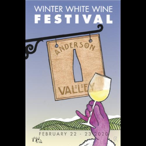 Winter White Wine Festival poster