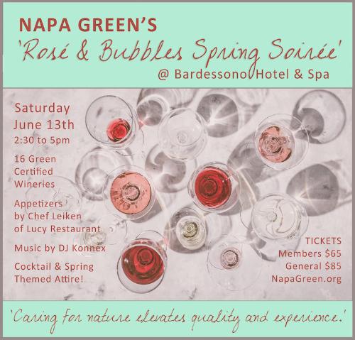 Napa_Green_Rose_Bubbles_Poster