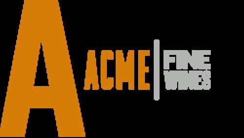 ACME Fine Wines logo