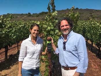 Winemakers Maya Dalla Valle and Axel Heinz