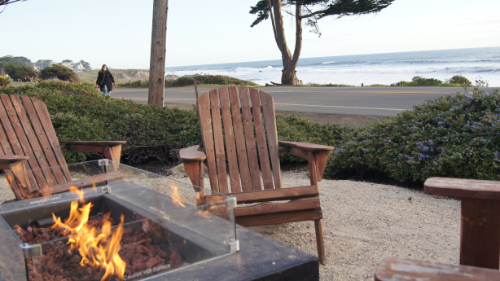 Firepit at Cambria Landing