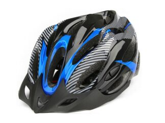 Unisex Adjustable Bike Helmet Blue