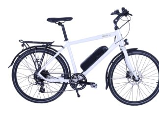 Nova X Crossbar Hybrid eBike with Hidden Battery