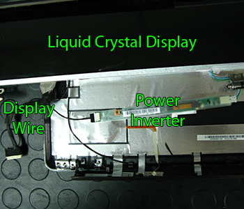 LCD screen inverter and display wire