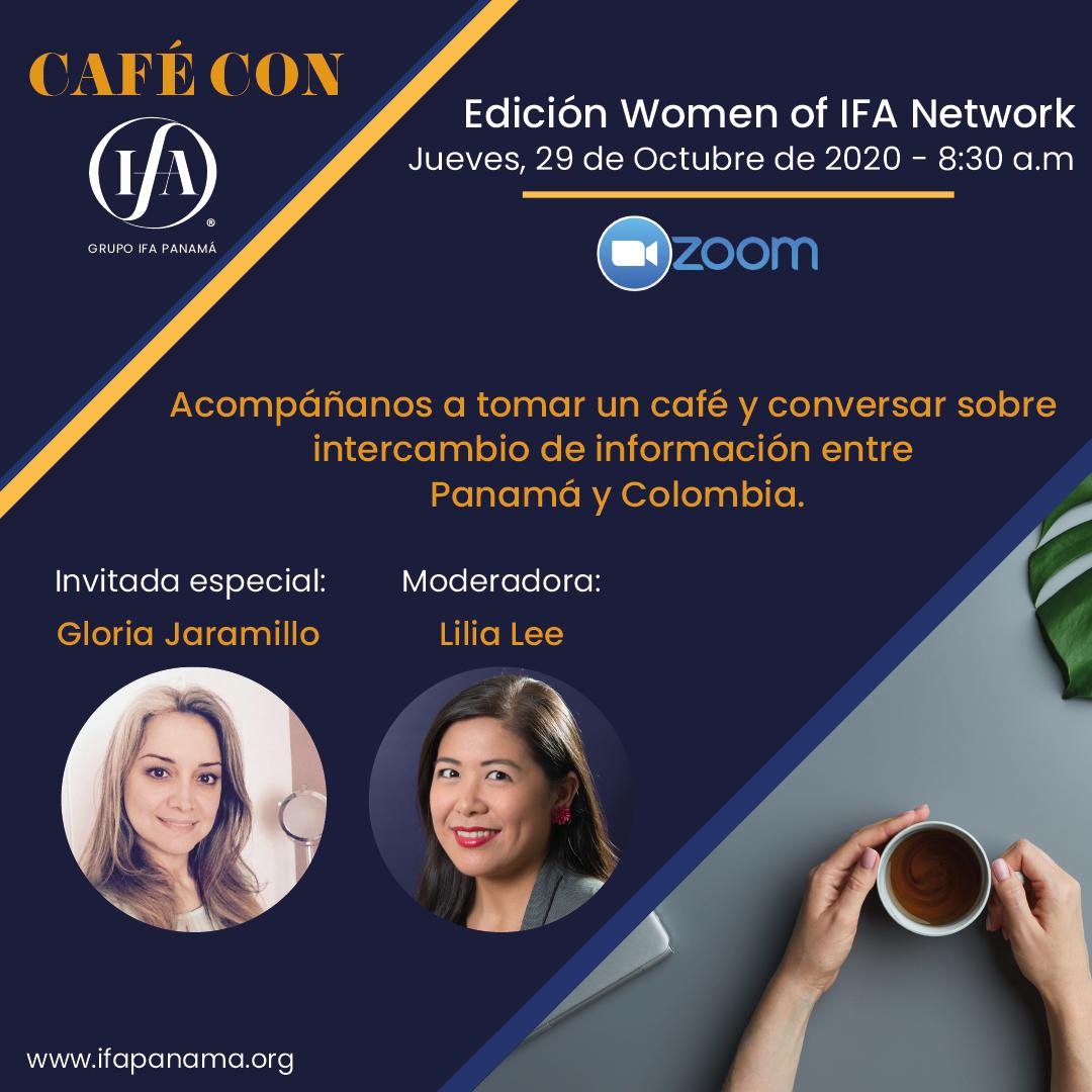 Café con Grupo IFA Panamá