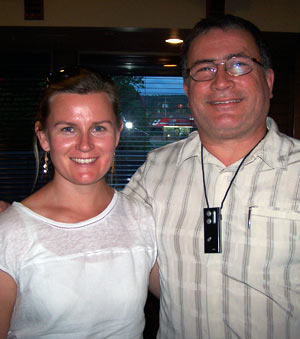 Dr. Deirdre Wilcock and Jim Munroe, President of the Maiyoo Keyoh Society
