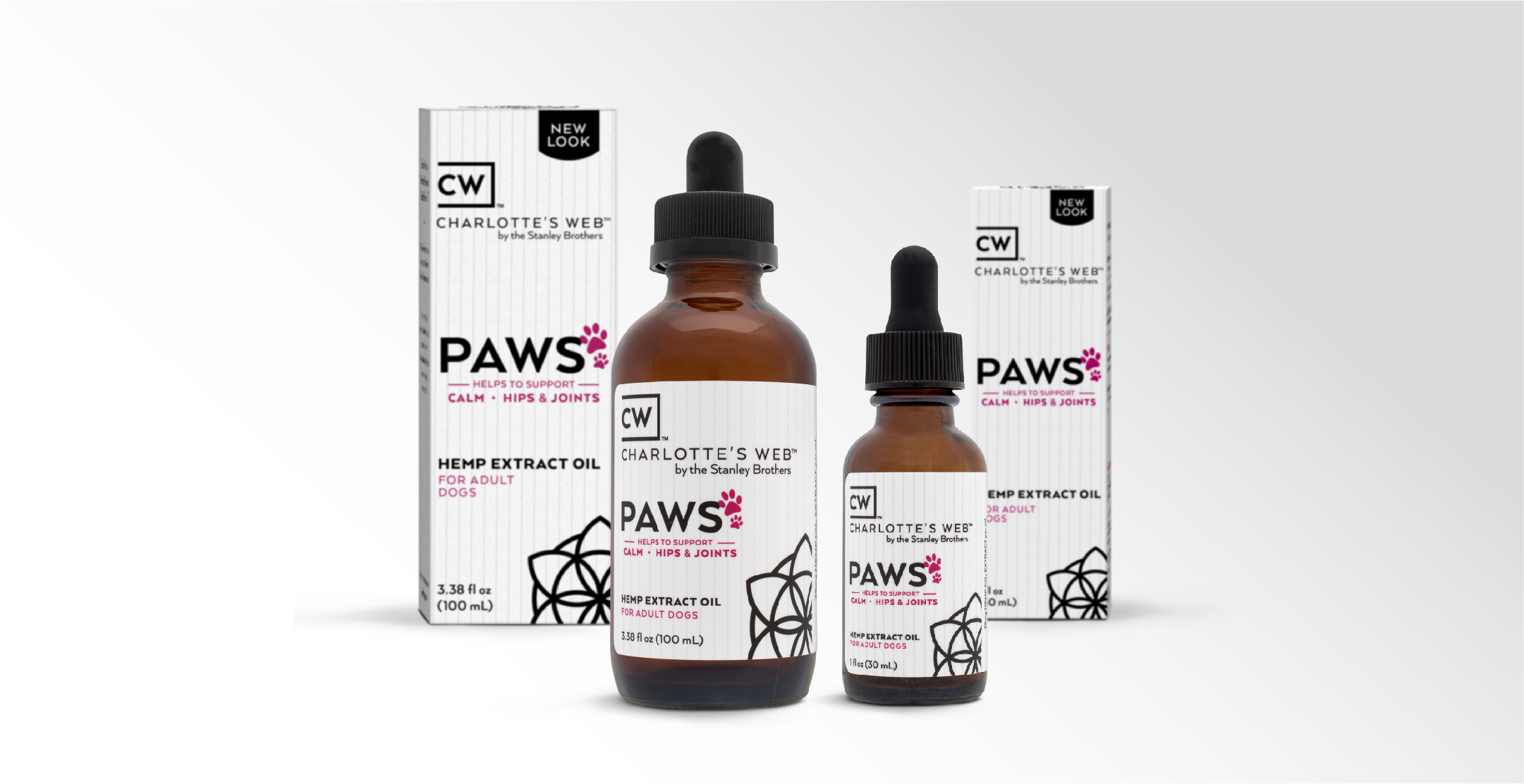 Paws line of CBD products for pets