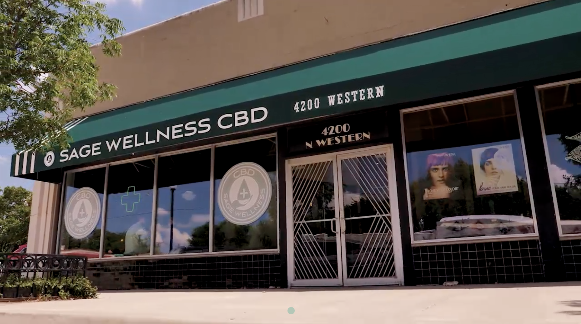 Sage Wellness storefront in Oklahoma City