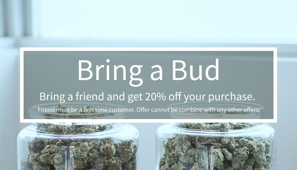 Sage Wellness bring a bud program for 20% off your purchase