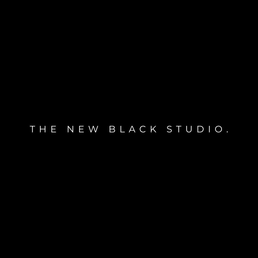 Creative Events Agency - The New Black Studio Logo