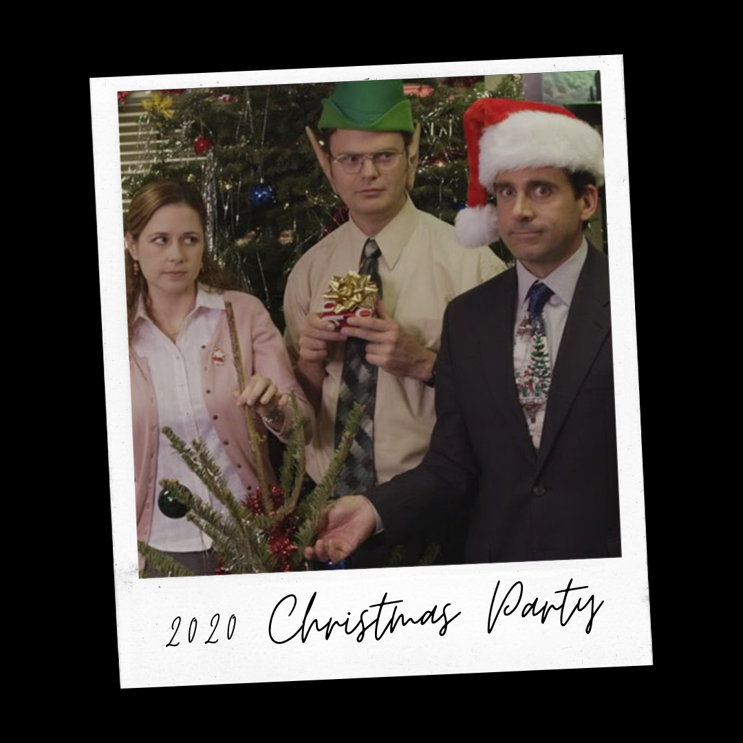 Christmas party in 2020