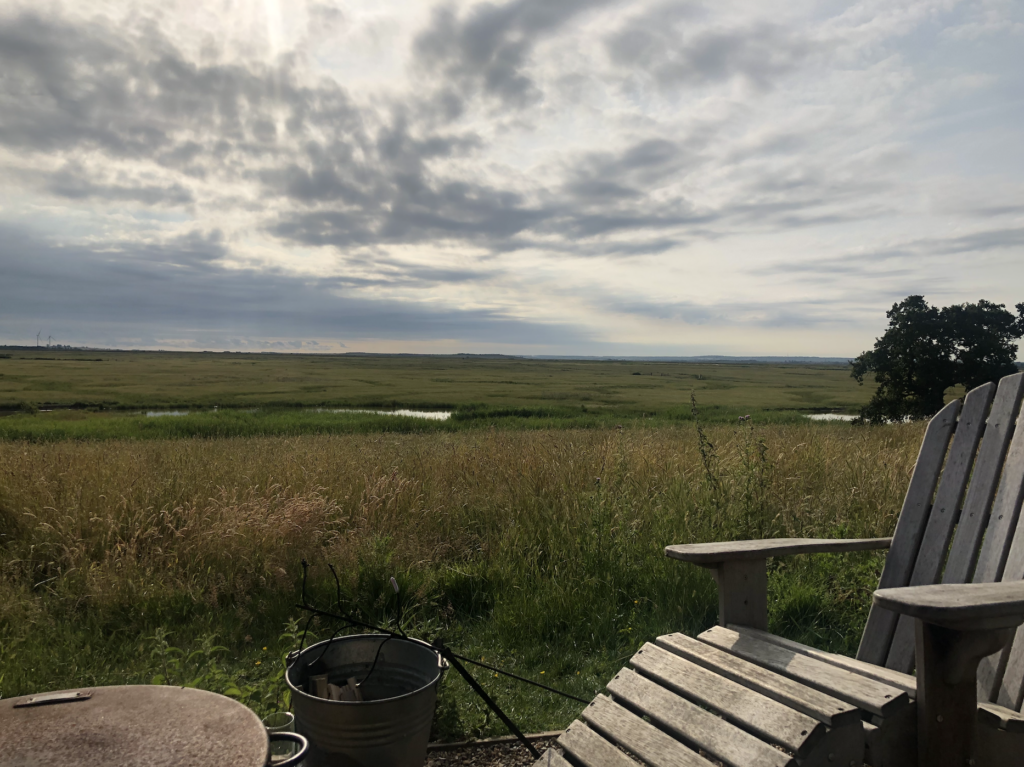corporate retreat at elmley nature reserve