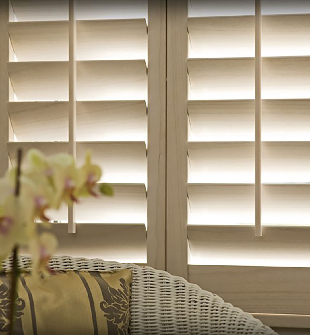 Plantation shutters sunshine shutters