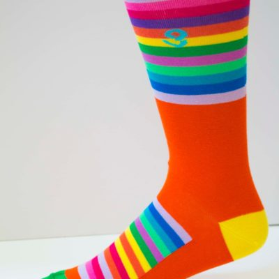 Double Rainbow Womens Sock