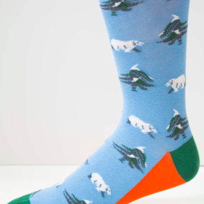 Polar Vortex Mens Sock