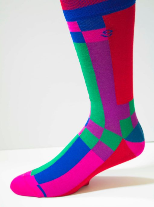 All Blocked Out Mens Sock