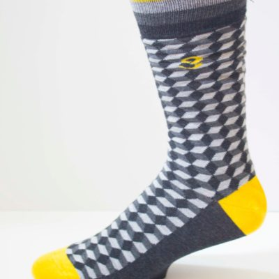 Diamond in the Rough Mens Sock